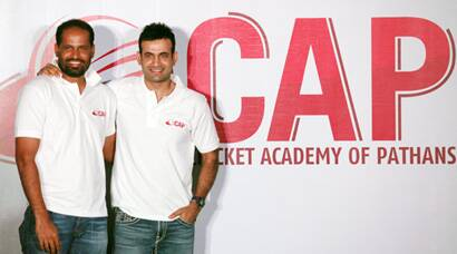 Irfan, Yusuf launch Cricket Academy of Pathans