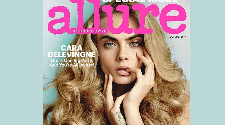 Cara Delevingne Goes Nude For Allure  Entertainment News -2357
