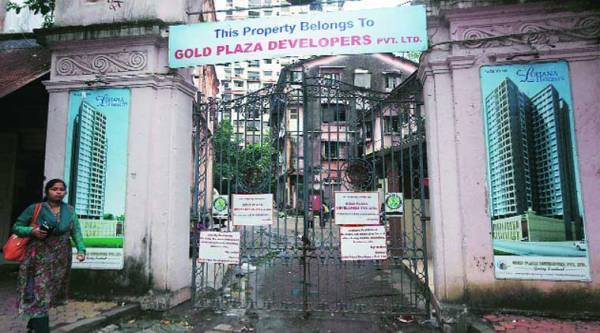 The plot was sold by Cutchi Lohana Niwas Griha Trust (CLNGT) to Gold Plaza Developers. ( Source: Express photo by Prashant Nadkar )