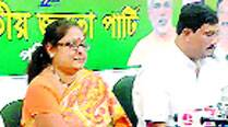 Commissioner's wife slams police action on JU students, joinsBJP