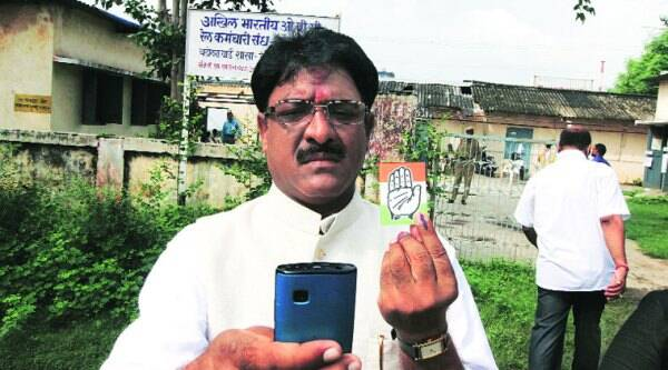 "Narendra Ravat allegedly clicked a selfie on his mobile phone as a mark of ""protest"" by the people of his constituency."