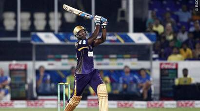 CLT20: KKR ride on Russell special to pip CSK