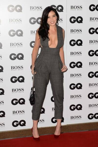 British model Daisy Lowe arrives for the GQ Men Of The Year Awards 2014 at a central London venue, London, Tuesday, Sept. 2, 2014. (Source: AP)