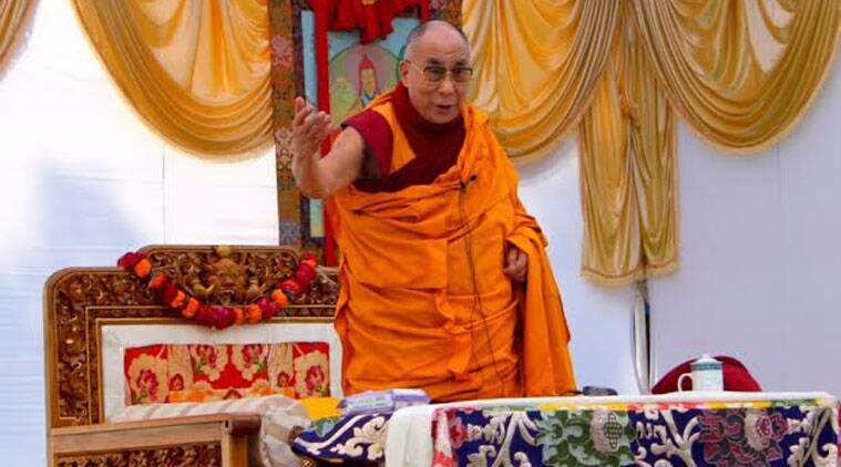 Dalai Lama also said good Sino-Indian relations based on mutual trust will benefit not just Asia but the whole world.(Source: Express Photo by Swati Chandra