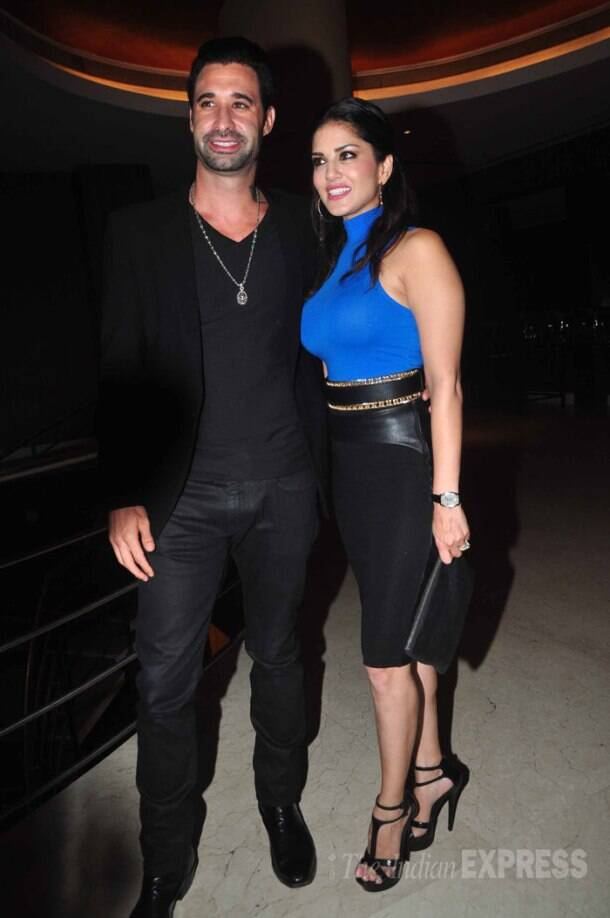 Amitabh Bachchan, Sunny Leone at Mika's film event