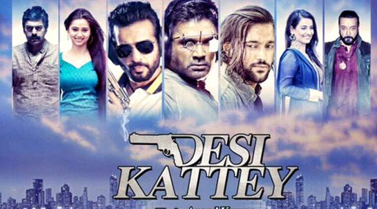 Sunile Shetty looks gray and drawn. The only one who catches the eye is Ashutosh Rana, who has done this kind of role before, but bites into it with relish, regardless. But even he isn't worth the shattered ear-drums.