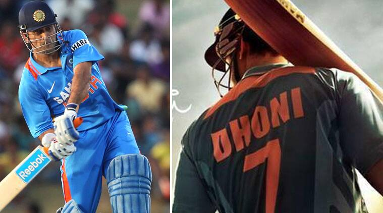 The biopic was facing some hurdles earlier, but its first look was finally released with Sushant Singh wearing a Dhoni jersey.