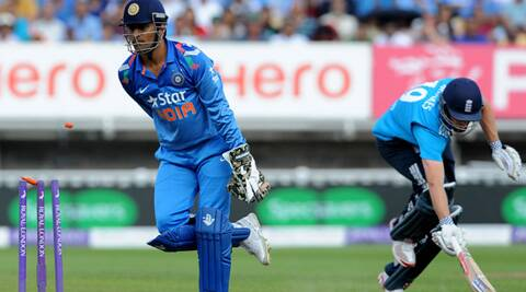 Dhoni, who became the most successful Indian ODI captain with 91 wins, thanked everyone whoever he has played with. (Source: AP)