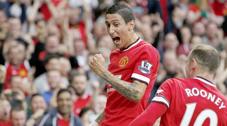 Di Maria's brilliant goal was perhaps the sign of things to come for the Red Devils. (Source: Reuters)