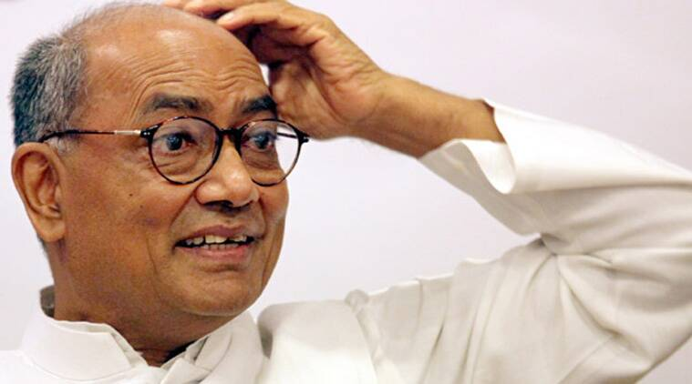 digvijay singh news, narmada river news, india news, indian express news