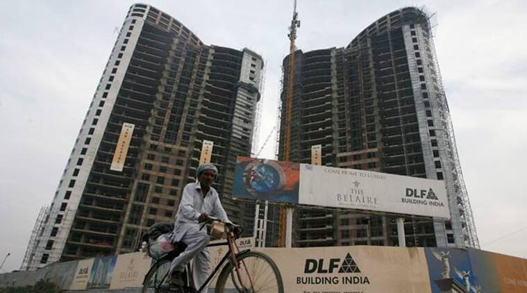 Haryana Revenue and Disaster Management, DLF, DLF Pinjore, DLF Panchkula, Amravati Enclave DLF, Indian express news