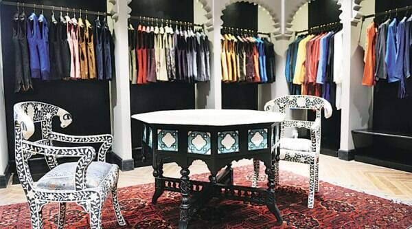 The interiors of Dongre's store