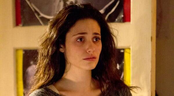 Actress Emmy Rossum has said she is not easy to be pleased, unlike her on-screen character on TV comedy drama 'Shameless'.