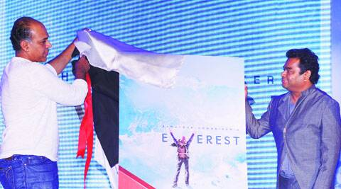 Ashutosh Gowariker and A.R. Rahman reveal the first look of Everest