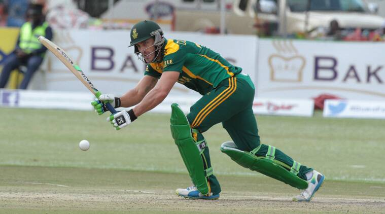 Du Plessis flourished as he scored 121 after smashing five fours and four sixes in his knock. (Source: AP)
