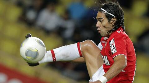 The Colombian is on a 1 year loan from French side AS Monaco. (Source: AP)