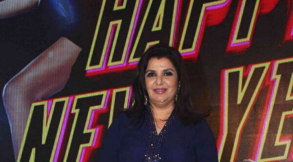 Farah Khan is suffering from a sudden throat problem.