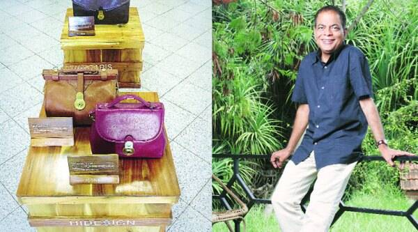 The Hidesign 'Icon Exhibition' will travel from Pondicherry to various cities (L); Dilip Kapur, president, Hidesign (R)