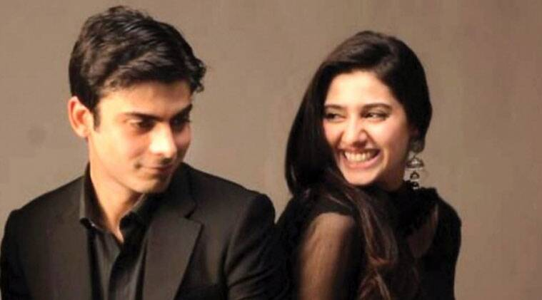 The actors were seen together in the show - Humsafar.