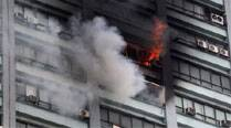Survivors recount narrow escape from blazing building