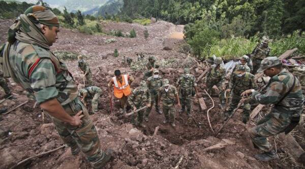 As many as 5700 BRO personnel have been deployed to restore the road connectivity in the region.