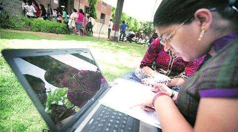 Many DU colleges have created Wi-Fi facilities. (Source: Express Archives)