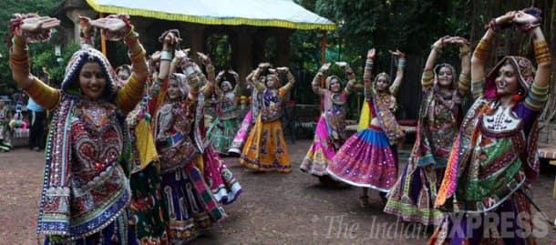Garba rehearsals in Ahmedabad in full swing