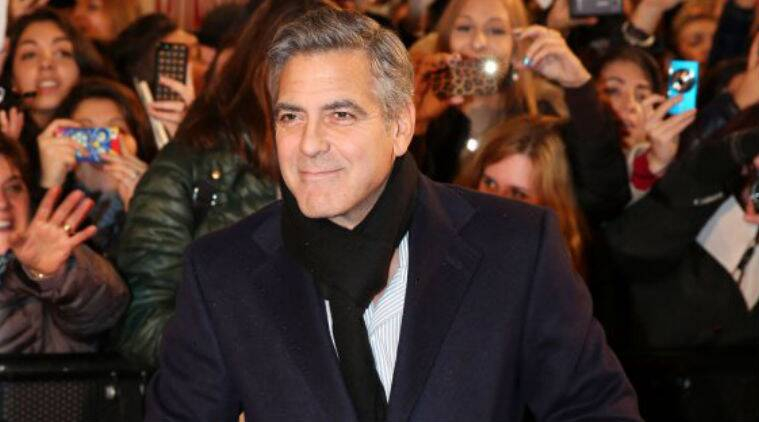 This is the second marriage for George Clooney. (Source: AP)