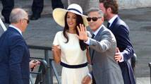Newlyweds George Clooney, Amal Alamuddin make marriage official