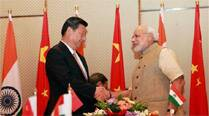 Modi gifts copy of Gita in Chinese to Xi at Sabarmati Ashram