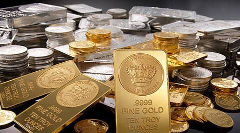 Silver also fell by Rs 365 to Rs 39,535 per kg on reduced offtake by industrial units and coin makers. (AP)