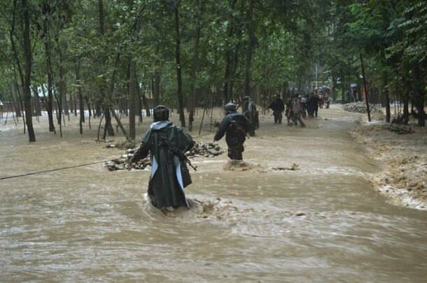 Floods hit Jammu and Kashmir