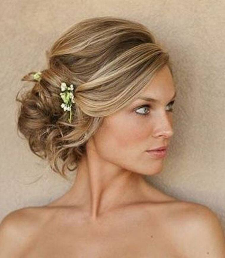 Wedding Hairstyles For Medium Hair Side From messy hair to loo...