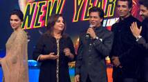 Watch: Happy New Year music launch with SRK, Deepika, Abhishek
