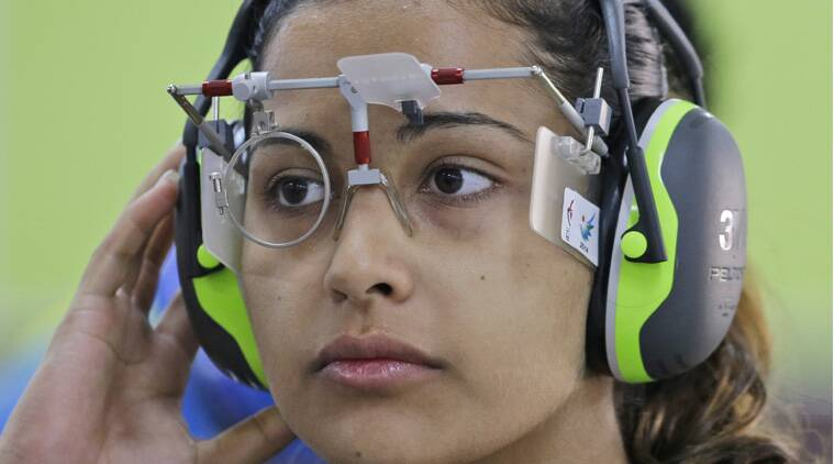 Heena missed out on making the final after having shot 11 inner tens, which was the less than those who qualified. (Source: AP)