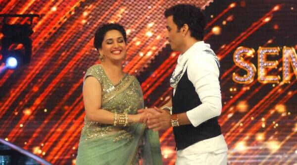 "Madhuri Dixit dance tour and I clicked 1700 pictures with MD in it,"" Ganesh Hegde said."
