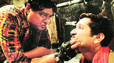 Saswata Chatterjee and Parambrata Chatterjee in a still from Hercules