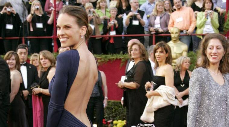 Hilary Swank is set to be honoured by organisers at Outfest for her role as a transgender man in 1999 film 'Boys Don't Cry'.  (Source: Reuters)