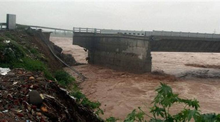 Jammu, Jammu bridge, bridge, JKPCC, May floods, river Tawi, Veeri, Thusoo, J&K, Jammu news, J&K news, India news, indian express