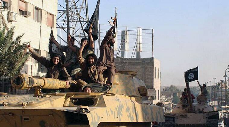 US-led air strikes continued to target Islamic State militants in Syria and Iraq in recent days.