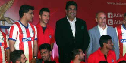 ISL side Atletico de Kolkata officially unveil team in Kolkata