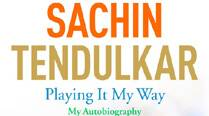 First Look: Tendulkar's autobiography