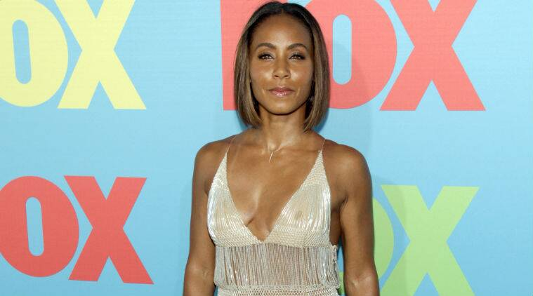 Jada Pinkett Smith said she does not punish Jaden, 17, and Willow, 13, when they misbehave. (Source: AP)