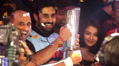 Abhishek Bachchan owned Jaipur Pink Panthers lifted the winner's trophy.