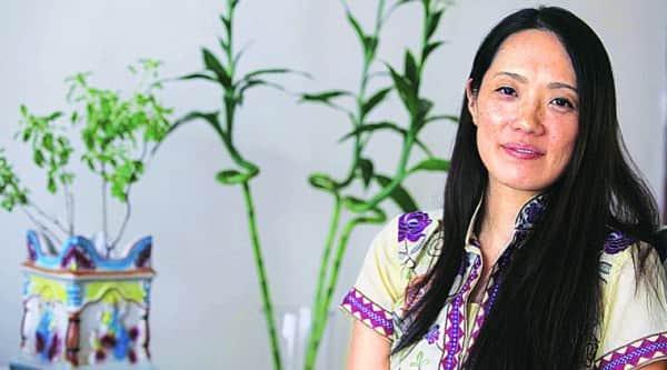 Keiko Nakahara at her Mumbai residence (Source: Vasant Prabhu)