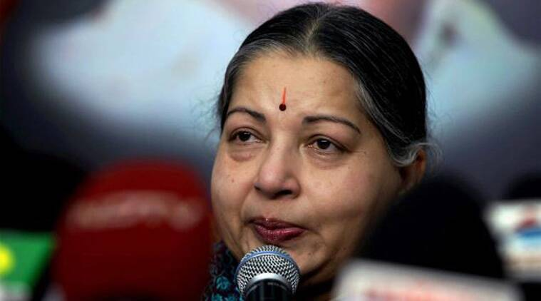 The 65-year-old AIADMK chief set out from her Poes Garden residence at 8.40 AM towards airport. (Source: PTI photo)