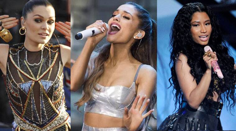 Jessie J Ariana Grande And Nicki Minaj Wallpaper
