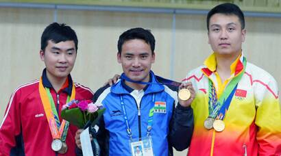 Jitu Rai gets India off to golden start at 2014 Asian Games