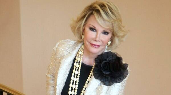 Joan Rivers was hospitalized Aug. 28 after going into cardiac arrest in a doctor's office following a routine procedure. (Source: AP)