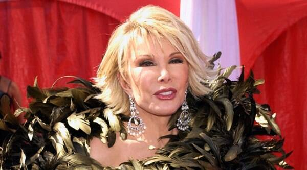 Comedienne Joan Rivers' life is set to be celebrated at a funeral in her hometown of New York City this weekend. (Source: AP)
